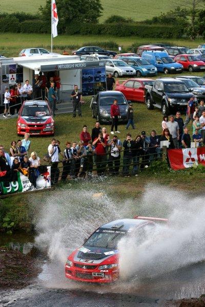 Ryan ChampionJim Clark Rally2006 British Rally ChampionshipKelso, ScotlandWorldwide copyright: Ebrey/LAT Photographic