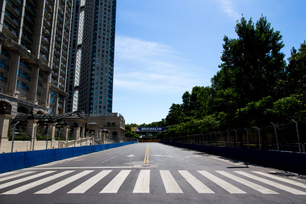 2015/2016 FIA Formula E Championship. Buenos Aires ePrix, Buenos Aires, Argentina. Friday 5 February 2016. A view of the track. Photo: Zak Mauger/LAT/Formula E ref: Digital Image _L0U9815