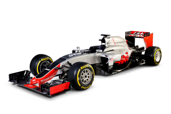 Haas VF-16 Studio Images. Thursday 18 February 2016. Photo: Haas F1 Team (Copyright Free FOR EDITORIAL USE ONLY) ref: Digital Image HAAS_04_TC
