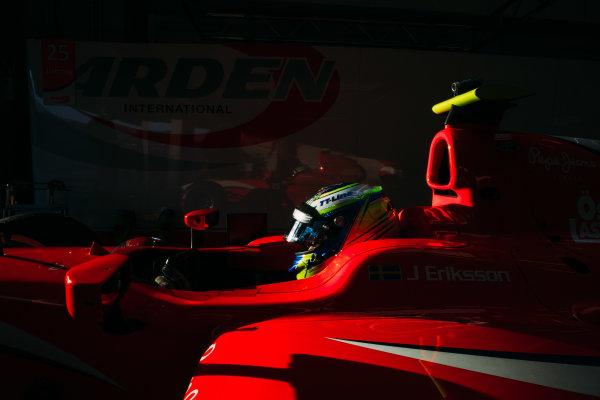 2016 GP2 Series Testing. Jerez, Spain. Wednesday 30 March 2016 Jimmy Eriksson (SWE) Arden International  World Copyright: Malcolm Griffiths/LAT Photographic. ref: Digital Image _G7C1084