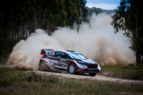 2017 FIA World Rally Championship, Round 13, Rally Australia 2017, 16-19 November 2017, Elfyn Evans, Ford, action, Worldwide Copyright: LAT/McKlein