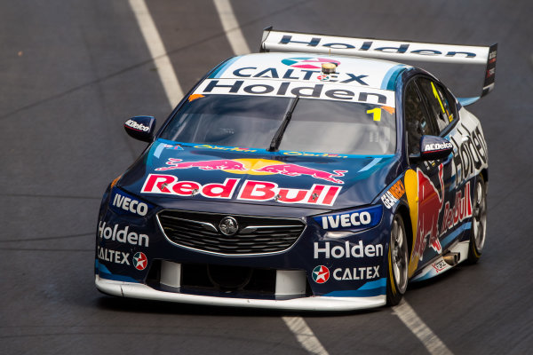 2018 Supercars Championship Adelaide 500, Adelaide, South Australia, Australia Friday 2 March 2018  #1 Jamie Whincup (Aust) Red Bull Holden Racing Team  World Copyright: Dirk Klynsmith / LAT Images ref: Digital Image 2018VASC01-03366