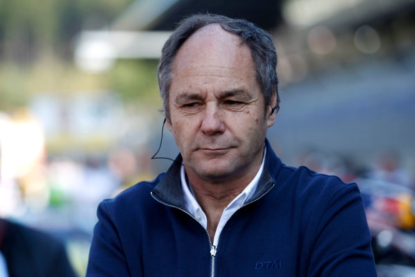 2017 DTM Round 8  Red Bull Ring, Spielberg, Austria  Saturday 23 September 2017. Gerhard Berger, ITR Chairman  World Copyright: Alexander Trienitz/LAT Images ref: Digital Image 2017-DTM-RBR-AT3-0990