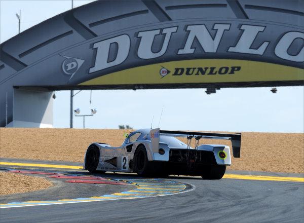 2014 Le Mans 24 Hours. Circuit de la Sarthe, Le Mans, France. Group C Race. Saturday 14 June 2014.  Car 2 exits the first chicane. World Copyright: Jeff Bloxham/LAT Photographic. ref: Digital Image DSC_3626