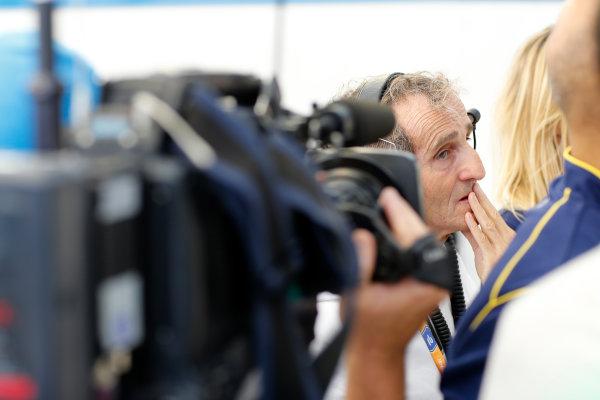 FIA Formula E -  Race Beijing E-Prix, China Saturday 13 September 2014. Alain Prost - Owner e.dams Photo: Adam Warner/LAT/ Formula E ref: Digital Image _L5R8702