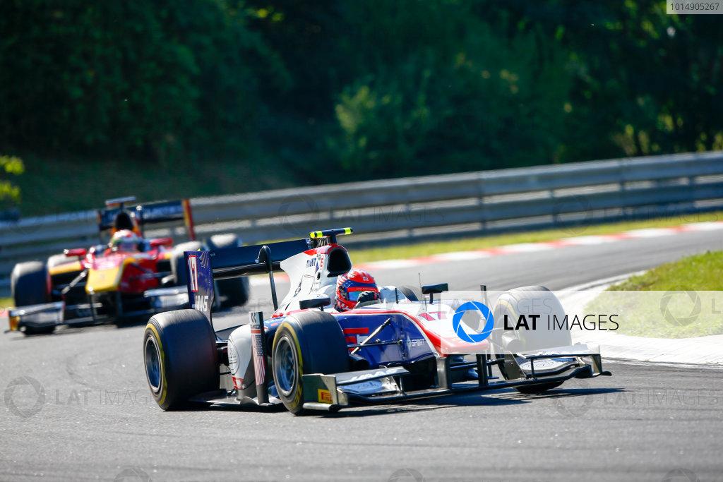 Hungaroring, Budapest, Hungary. Saturday 29 July 2017 Raffaele Marciello (ITA, Trident).  Photo: Hone/FIA Formula 2 ref: Digital Image _ONZ9853