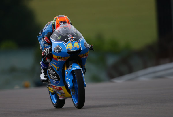 2017 Moto3 Championship  - Round 9 Sachsenring, Germany Friday 30 June 2017 Aron Canet, Estrella Galicia 0,0 World Copyright: David Goldman/LAT Images ref: Digital Image 681047