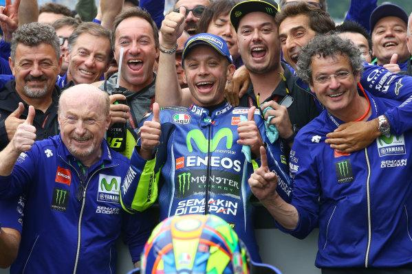 2017 MotoGP Championship - Round 8 Assen, Netherlands Sunday 25 June 2017 Race winner Valentino Rossi, Yamaha Factory Racing World Copyright: David Goldman/LAT Images ref: Digital Image 680252