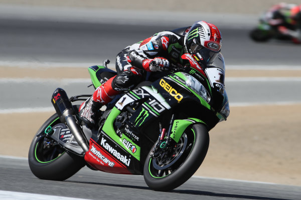 2017 Superbike World Championship - Round 8 Laguna Seca, USA. Friday 7 July 2017 Jonathan Rea, Kawasaki Racing World Copyright: Gold and Goose/LAT Images ref: Digital Image 682935