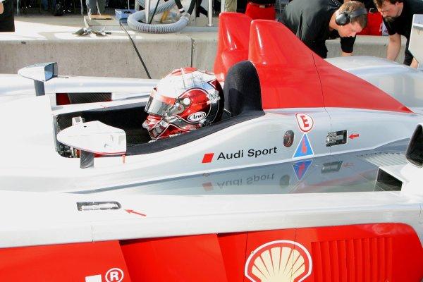 JANUARY 23-25, 2006, SEBRING INTERNATIONAL RACEWAY, RINALDO CAPELLO,  LMP NO 2  AUDI-R10   ©2006, GREG ALECK/LAT