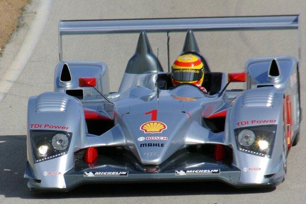 JANUARY 23-25, 2006, SEBRING INTERNATIONAL RACEWAY, NO 1 AUDI R10, FRANK BIELA   ©2006, GREG ALECK/LAT