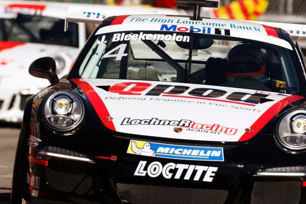 Monte Carlo, Monaco 26th May 2013 Jeroen Bleekemolen, #4 Lechner Racing.  World Copyright: Charles Coates/LAT Photographic ref: Digital Image _N7T9076