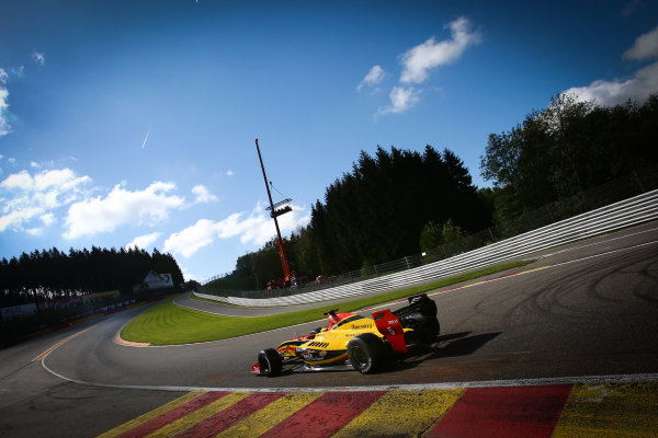 Spa-Francorchamps (BEL) May 31 - June 2 2012 - Second round of the World Series by Renault at Circuit Spa-Francorchamps. Stoffel Vandoorne #5 Fortec. Action. © 2013 Diederik van der Laan / Dutch Photo Agency / LAT Photographic.