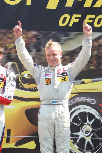 2013 Masters of Formula Three, Zanvoort, 7th July 2013. Felix Rosenqvist (SWE) KFZ-Teile24 Mucke Motorsport Dallara F312 Mercedes World Copyright: Essay/Ebrey/LAT Photographic