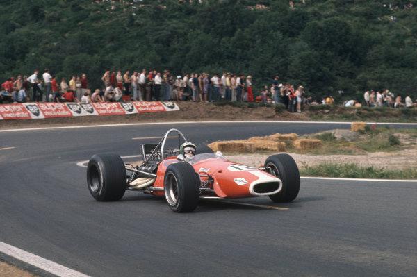 Clermont-Ferrand, France. 4-6th July 1969.  Silvio Moser, Brabham BT24 Ford.  Ref: 69FRA03. World Copyright: LAT Photographic