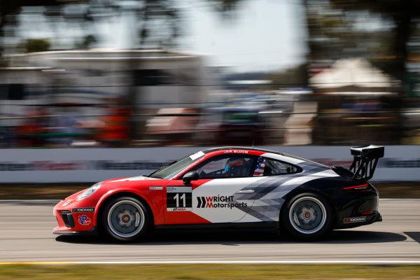 2017 Porsche GT3 Cup USA Sebring International Raceway, Sebring, FL USA Friday 17 March 2017 11, Phil Bloom, GT3P, USA, 2017 Porsche 991 World Copyright: Jake Galstad/LAT Images ref: Digital Image lat-galstad-SIR-0317-14692