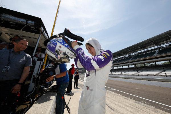 Verizon IndyCar Series Indianapolis 500 Practice Indianapolis Motor Speedway, Indianapolis, IN USA Monday 15 May 2017 Zach Veach, A.J. Foyt Enterprises Chevrolet World Copyright: Michael L. Levitt LAT Images