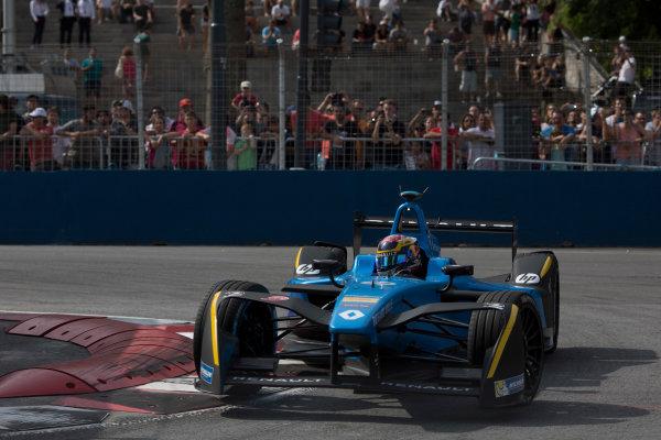 2016/2017 FIA Formula E Championship. Buenos Aires ePrix, Buenos Aires, Argentina. Saturday 18 February 2017 Sebastien Buemi (9, Renault e.dams). Photo: Alastair Staley/LAT/Formula E ref: Digital Image 580A7237