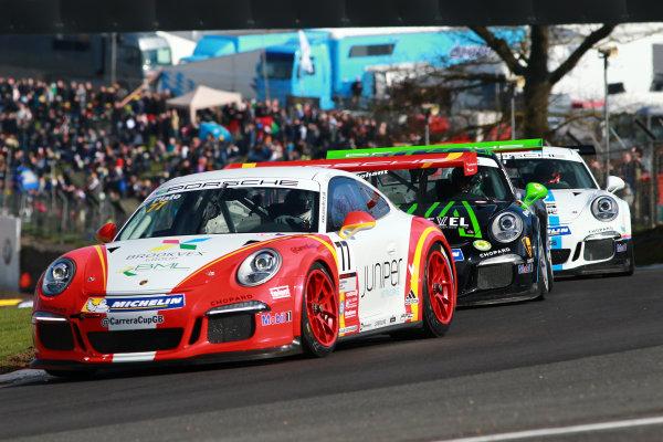 2017 Porsche Carrera Cup GB Brands Hatch, 1st-2nd April 2017 Lewis Plato World Copyright. JEP/LAT Images