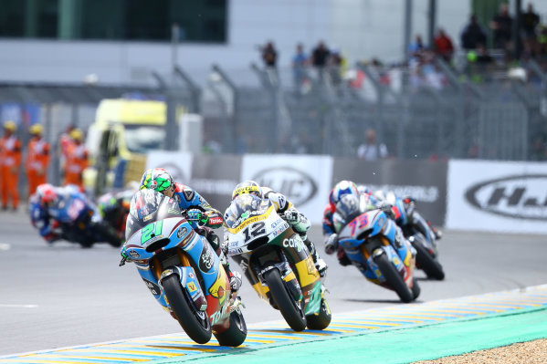 2017 Moto2 Championship - Round 5 Le Mans, France Sunday 21 May 2017 Franco Morbidelli, Marc VDS World Copyright: Gold & Goose Photography/LAT Images ref: Digital Image 671766