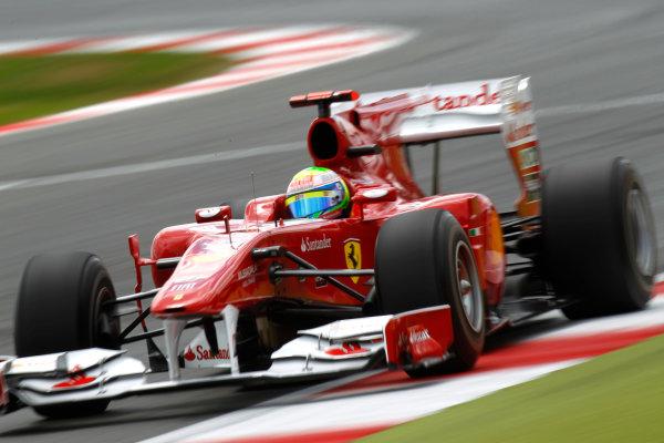 Silverstone, Northamptonshire, England 10th July 2010 Felipe Massa, Ferrari F10. Action.  World Glenn Dunbar/LAT Photographic ref: Digital Image _G7C5862