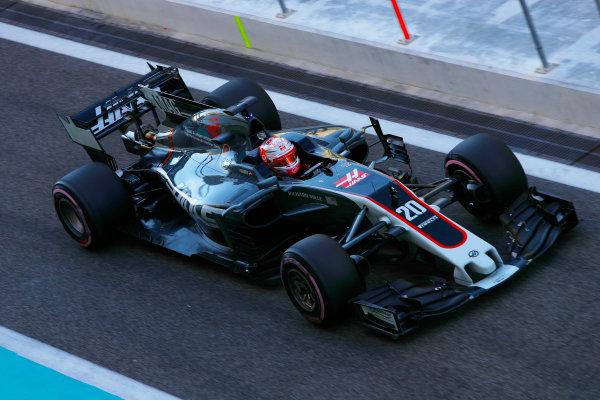 F1 Testing - Abu Dhabi Day 2