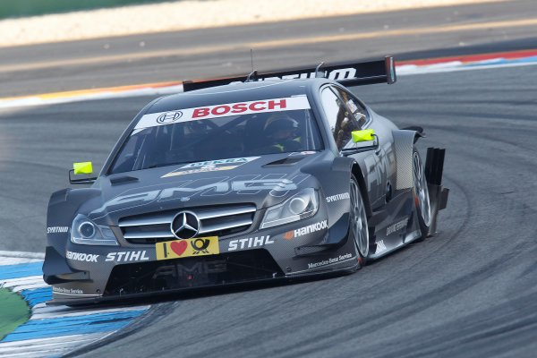 2012 DTM Championship Round 10 - Hockenheim, Germany 19th - 21st October 2012 Ralf Schumacher (GER), Team HWA AMG Mercedes, AMG Mercedes C-Coupe. World Copyright:  XPB Images / LAT Photographic ref: Digital Image 2403259_HiRes
