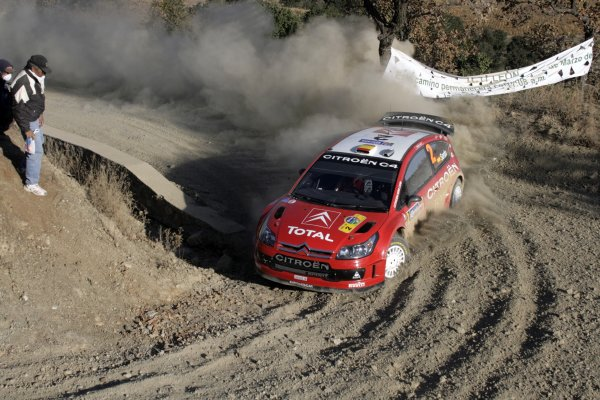2008 FIA World Rally ChampionshipRound 03Rally Mexico28 February-2 March 2008Dani Sordo, Citroen, Action.Worldwide Copyright: McKlein/LAT