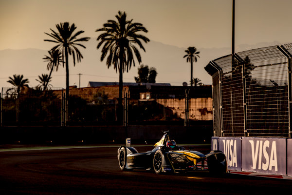 2016/2017 FIA Formula E Championship. Marrakesh ePrix, Circuit International Automobile Moulay El Hassan, Marrakesh, Morocco. Saturday 12 November 2016.Jean-Eric Vergne (FRA), Techeetah, Spark-Renault, Renault Z.E 16.  Photo: Zak Mauger/LAT/Formula E ref: Digital Image _X0W5321