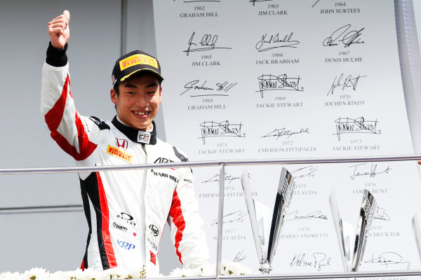 Nirei Fukuzumi (JPN, ART Grand Prix)  2016 GP3 Series Round 8 Sepang International Circuit, Sepang, Malaysia. Sunday 2 October 2016  Photo: Sam Bloxham/GP3 Series Media Service ref: Digital Image _SLA4789