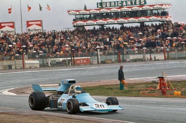 1974 Spanish Grand Prix.  Jarama, Madrid, Spain. 26-28th April 1974.  Chris Amon, Amon AF1 Ford, retired.  Ref: 74ESP04. World Copyright: LAT Photographic