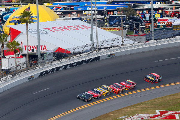 20-21 February, 2015, Daytona Beach, Florida USA Kyle Busch, Monster Energy Toyota Camry ?2015, Russell LaBounty LAT Photo USA