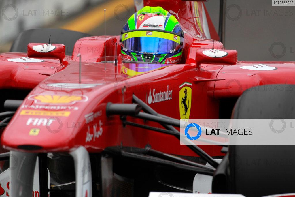 Albert Park, Melbourne, Australia 25th March 2011. Felipe Massa, Ferrari 150° Italia. Action.  World Copyright: Charles Coates/LAT Photographic ref: Digital Image _X5J8748