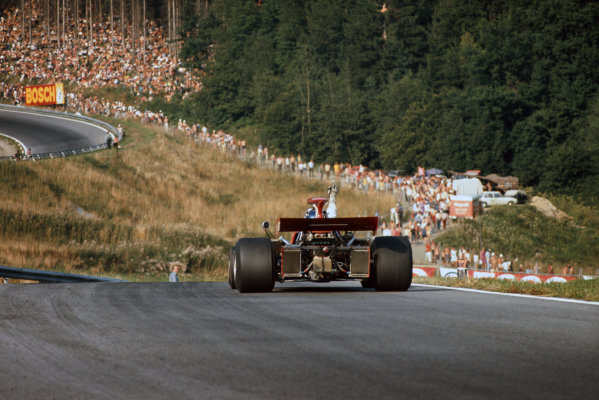 1972 Austrian Grand Prix.  Osterreichring, Zeltweg, Austria. 11-13th August 1972.  Ronnie Peterson, March 721G Ford.  Ref: 72AUT10. World Copyright: LAT Photographic
