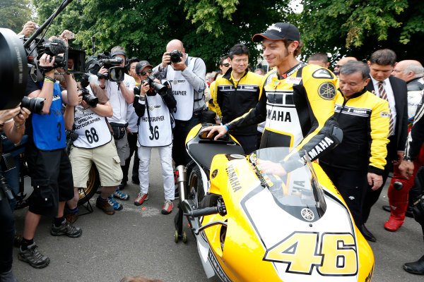 2015 Goodwood Festival of Speed Goodwood Estate, West Sussex, England. 25th - 28th June 2015. Valentino Rossi. World Copyright: Alastair Staley/LAT Photographic ref: Digital Image_R6T1315