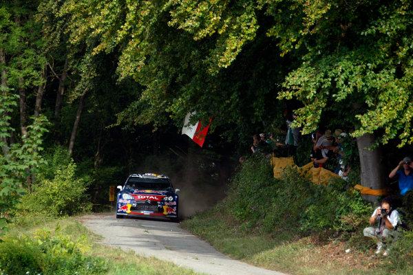 Round 09 - Rally Deutschland 18-21 August 2011.Sebastien Ogier, Citroen WRC, Action.Worldwide Copyright: McKlein/LAT