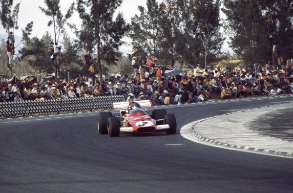 Jacky Ickx, Ferrari 312B, 1st.