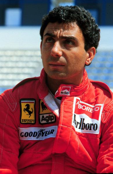 1985 Formula 1 World Championship.Michele Alboreto (Ferrari).Ref-A3A 01.World - LAT Photographic