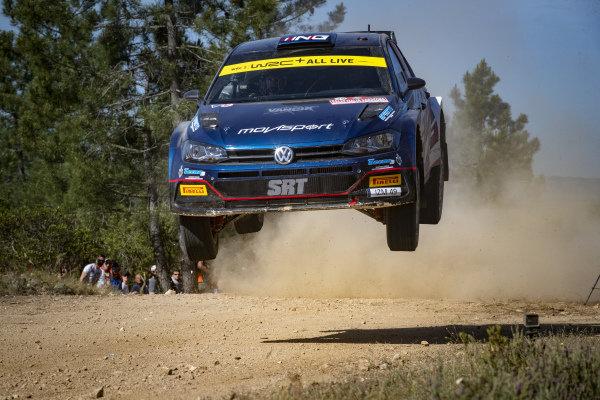 Nikolay Grayzin (RUS), Movisport, Volkswagen Polo GTi Rally2