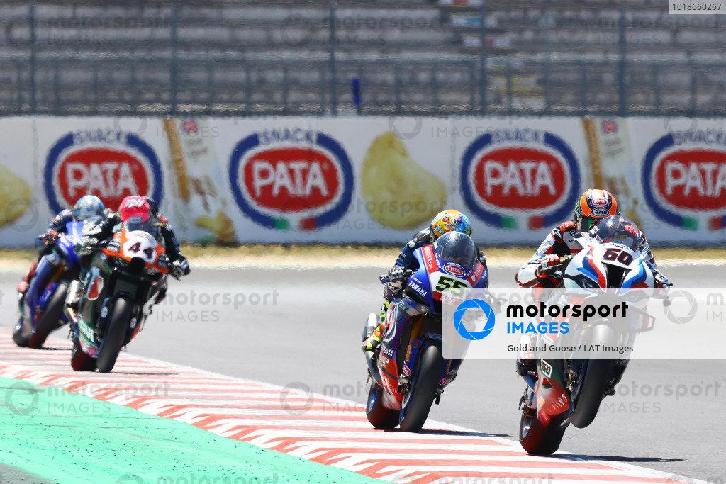 Michael van der Mark, BMW Motorrad WorldSBK Team, Andrea Locatelli, PATA Yamaha WorldSBK Team, Lucas Mahias, Kawasaki Puccetti Racing.