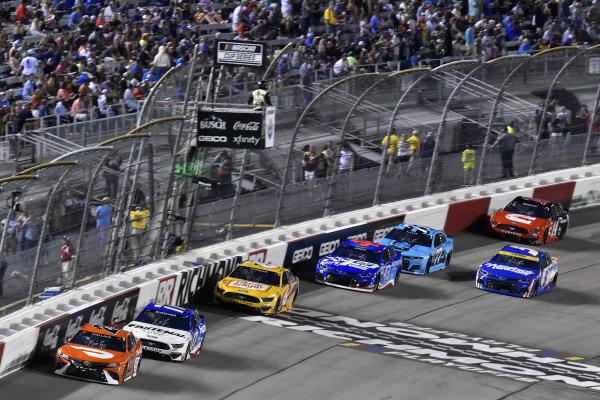 #23: Bubba Wallace, 23XI Racing, Toyota Camry Door Dash and #17: Chris Buescher, Roush Fenway Racing, Ford Mustang Fastenal