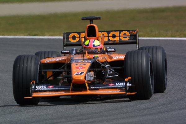 2001 Spanish Grand PrixCatalunya, Barcelona, Spain. 27-29 April 2001.Enrique Bernoldi (Arrows A22 Asiatech).World Copyright - LAT Photographicref: 8 9 MB Digital File