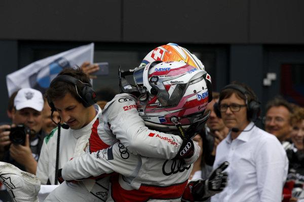 Nico Müller, Audi Sport Team Abt Sportsline and René Rast, Audi Sport Team Rosberg.