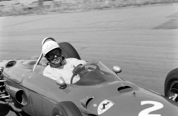 Phil Hill, Ferrari 156.