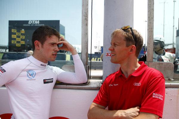 Paul Di Resta, R-Motorsport and Mattias Ekström.