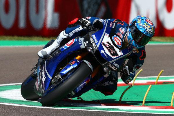 Marco Melandri, GRT Yamaha WorldSBK.