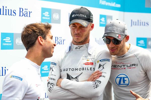 Antonio Felix da Costa (PRT), BMW I Andretti Motorsports, Andre Lotterer (DEU), DS TECHEETAH, and Edoardo Mortara (CHE) Venturi Formula E, watch the times