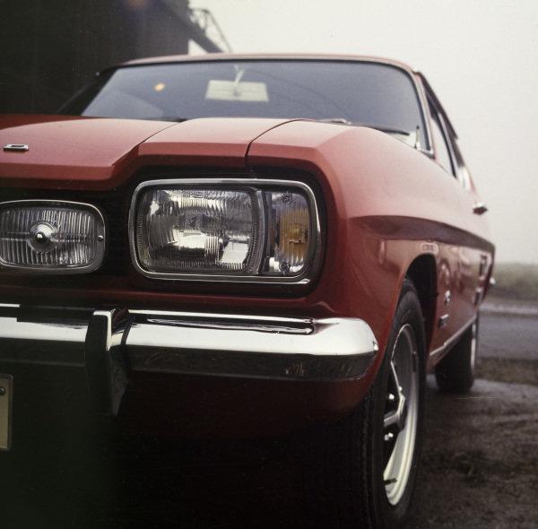 Ford Capri 1600GT XLR.