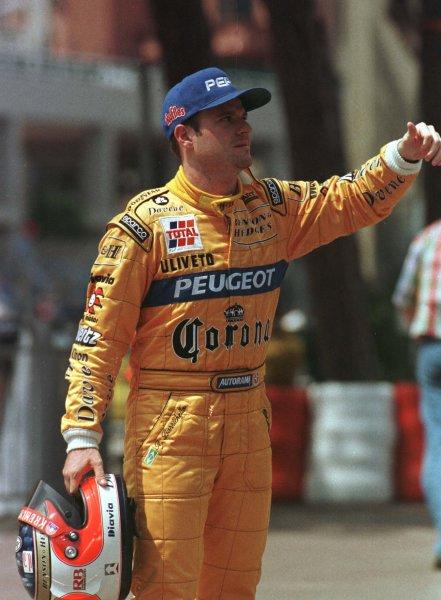 Monaco Grand Prix.Monte Carlo, Monaco.16-19 May 1996Rubens Barrichello (Jordan Peugeot).World Copyright - LAT Photographic