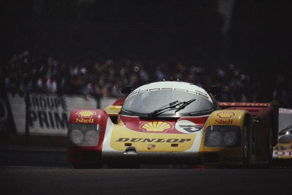 Mario Andretti / Michael Andretti / John Andretti, Porsche AG, Porsche 962 C.